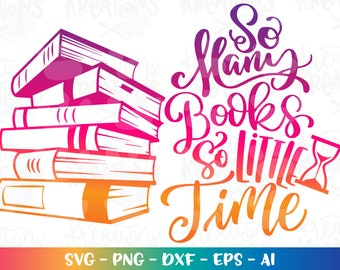 Reading Instant Download Sublimation Digital Graphic I Like Big Books PNG  JPEG  PDF Library Books Teaching