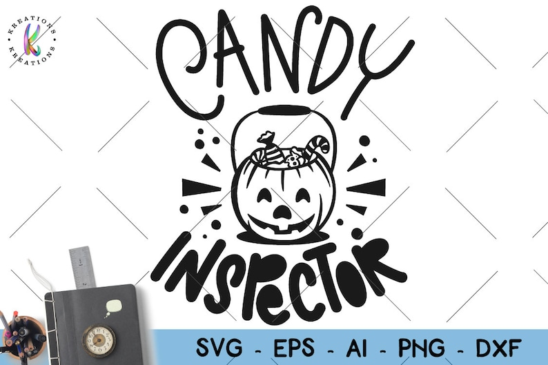 Halloween Quotes Svg.Candy Inspector Svg Halloween Quotes Svg Hand Drawn Svg Print Iron On Cut Files Silhouette Cricut Cameo Instant Download Vector Svg Png Eps
