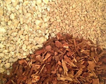 Gritty Mix Turface / Pine Bark Fines / Gran-I-Grit Bonsai Succulent soil-less mix
