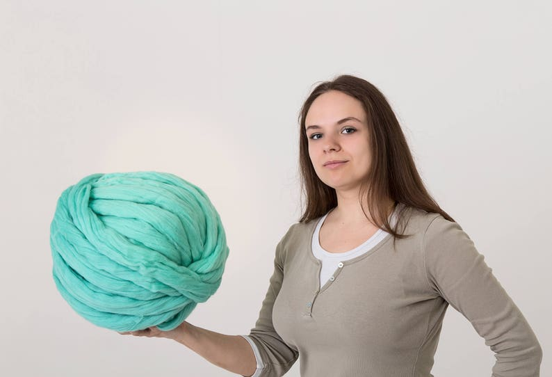 Wool roving 4 lbs2 kg Arm knitting yarn Merino wool yarn Combed top Bulky knit Big knit Jumbo wool Chunky yarn Pure fibre