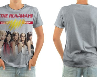 THE RUNAWAYS live in japan shirt all sizes