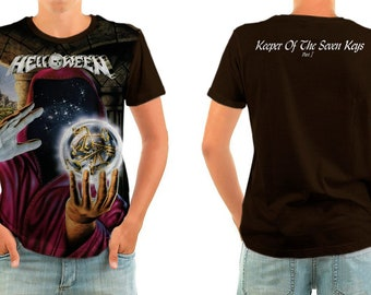 HELLOWEEN keeper of the seven keys shirt all sizes