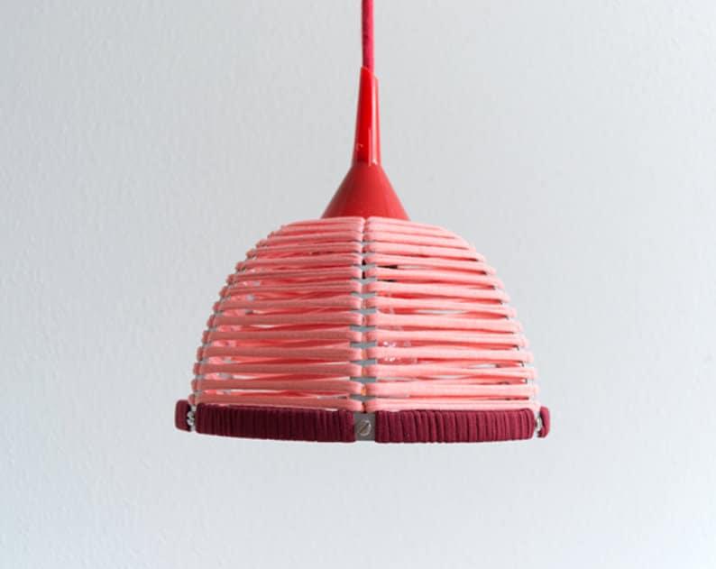 PENDANT LAMP 'FUNNEL PINK'  lamp  pendant lamp  image 0
