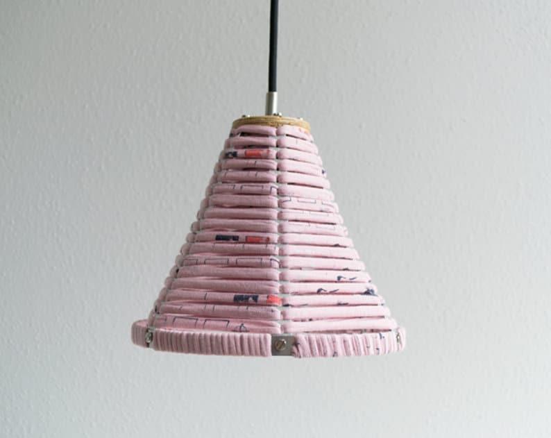 PENDANT LAMP 'CONE LIGHT PINK'  lamp  pendant lamp  image 0
