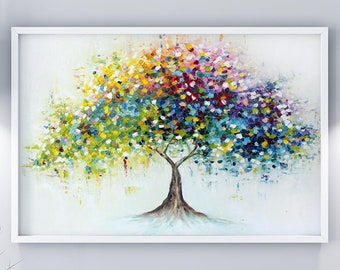 Modern Art Paintings Of Trees