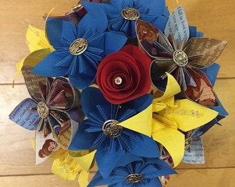 Beauty & The Beast Paper Flower Bouquet