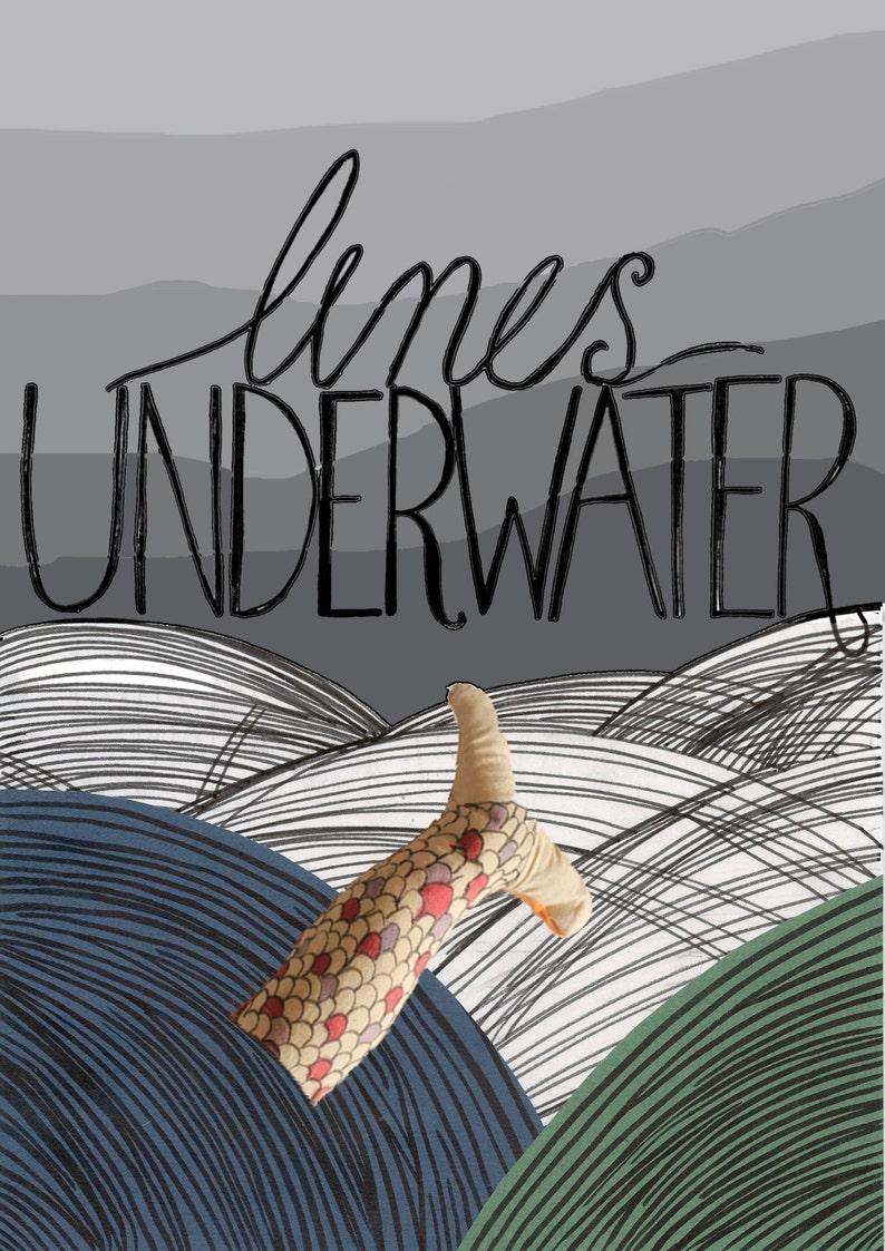 Mermaid Mythology Anthology  Poems Underwater  Poetry image 0