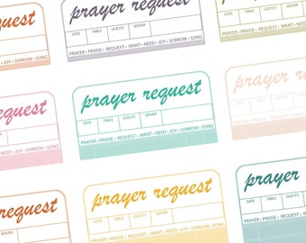 Promises | Prayer Request Cards Printable
