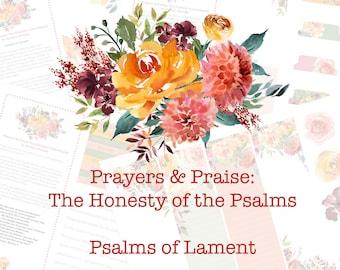 Psalms of Lament | Bible Journaling Devotional & Kit