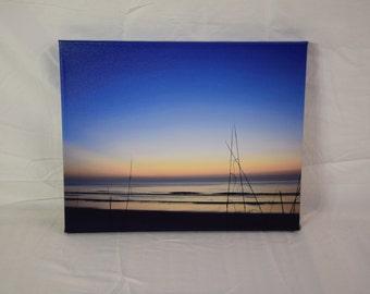 Hazy Blue Dawn Photography Print