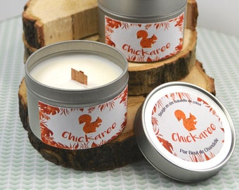 Squirrel: Totem natural and scented candle
