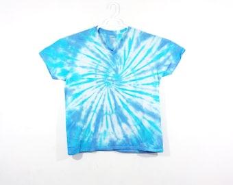 a1184a8c1d64 Tie Dye T Shirt Spiral Handmade Tye Die Cotton Adult Youth Toddler 2T 3T 4T  S M L XL 2XL 3XL Short Sleeve