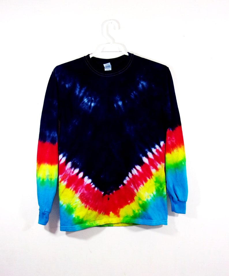 6a40b66811d47 Tie Dye Long Sleeve T Shirt Adult Youth Sizes