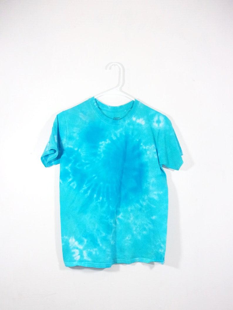 Tie Dye T Shirt XL Youth Galaxy Swirl Cotton Short Sleeve Premade
