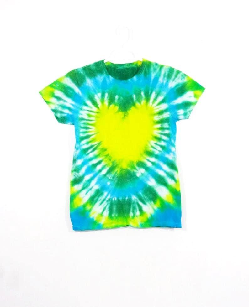 Tie Dye T Shirt Spiral Handmade Tye Die Toddler Sizes 2T 3T 4T 5T 6T