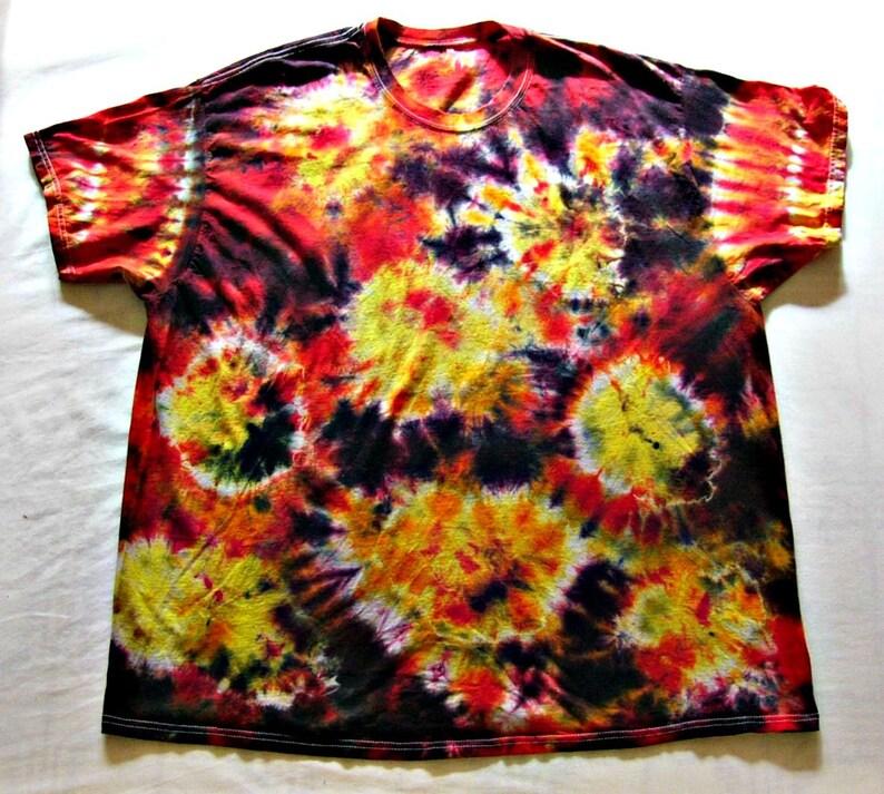 47a990a87112 Tie Dye Shirt Sunburst Handmade Tye Die Cotton Adult Youth