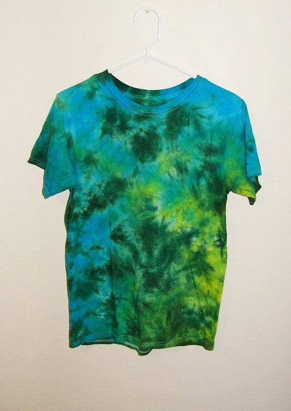 7a98cd0dab31 Tie Dye T-Shirts XL Youth Crinkle Cotton