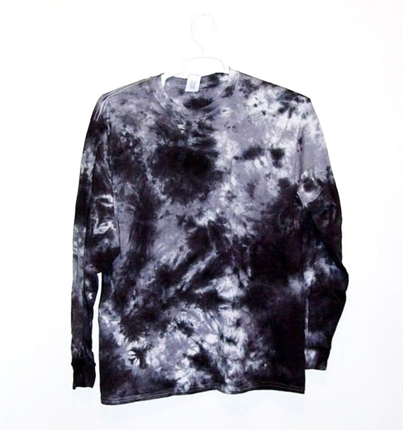 997e4047c5ba6 Tie Dye Crinkle Long Sleeve T Shirt Adult Youth Sizes