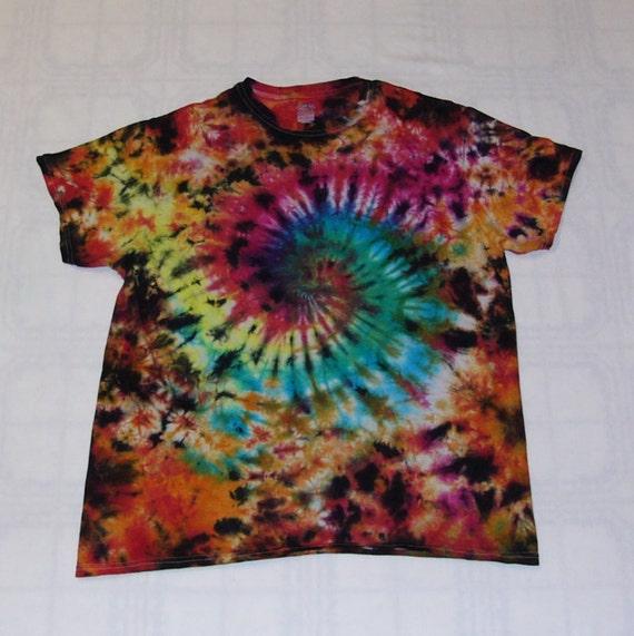 e5e1389f7af2 Tie Dye T Shirt Galaxy Swirl Handmade Tye Die 100 Cotton Adult