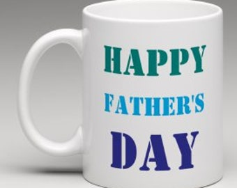 Father's Day mug, Happy Father's Day, Gift for dad, new dad, dad to be gift, Step dad gift, gift for him, Best dad mug, gift for him