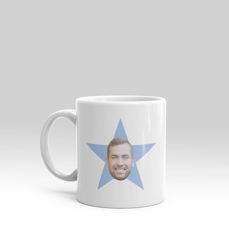 The office your face star mug PLEASE READ DESCRIPTION image 0