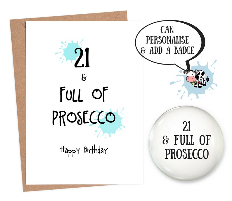 Funny 21 Birthday 21st Card