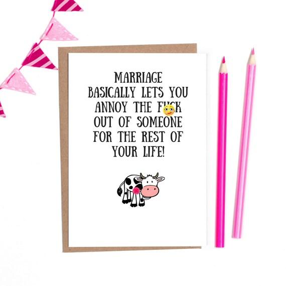 Lustige Hochzeitskarten Lustig Hochzeit Hochzeitskarte Etsy