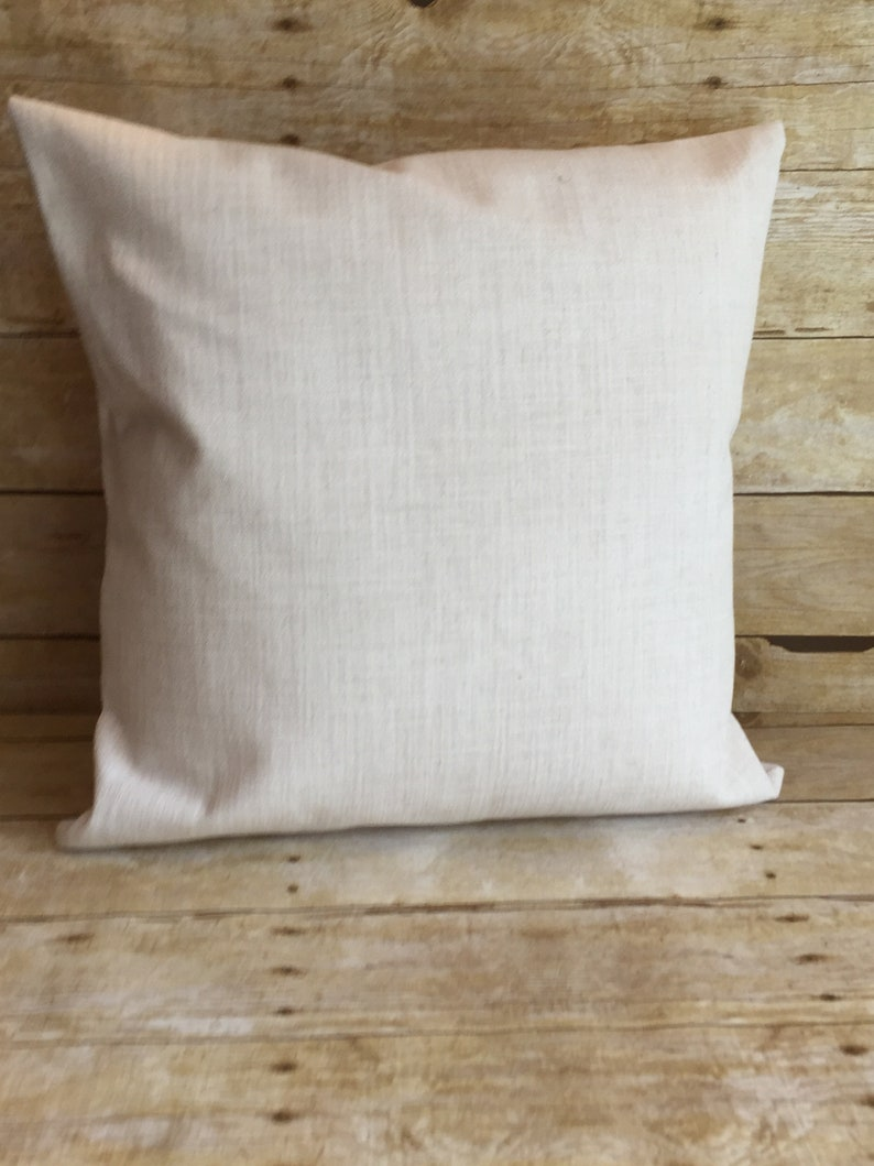 Polyester Pillow Cover, 100% Polyester, Sublimation Blank, Throw Pillow  Cover, 18x18, Off-White, Envelope Style, Home Decor, DIY