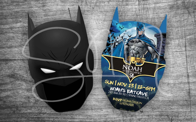New Evite Batman Custom Birthday Invitations Digital Gotham Etsy Jpg 1500x938 Lego Star Wars