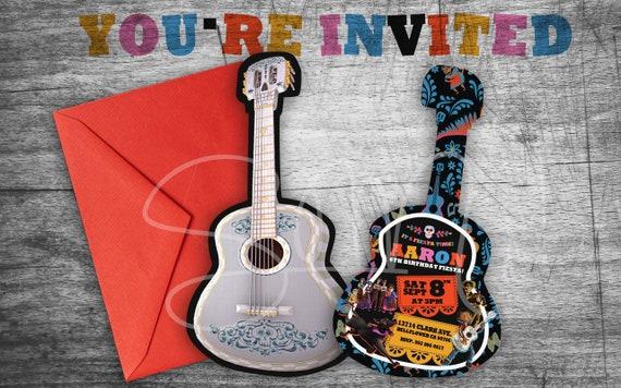 New e vite coco guitar birthday invitations digital printable etsy image 0 filmwisefo