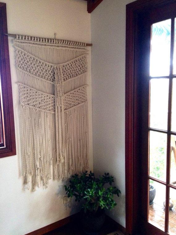 Large Macrame Wall Hanging Rope Wall Art Fringing Wall