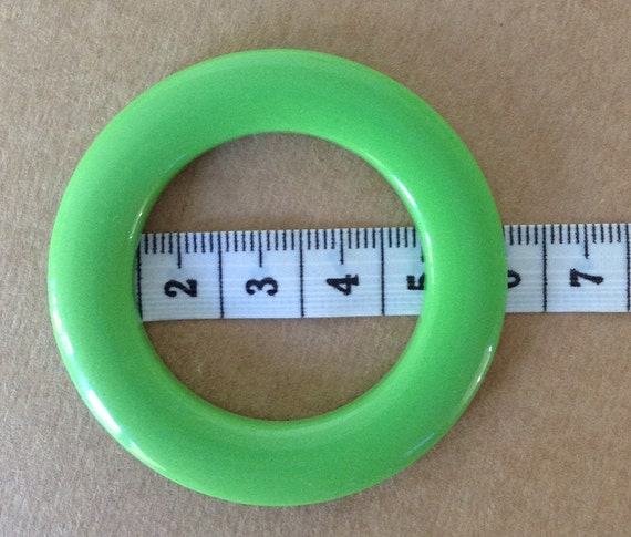 HIGH density plastic LARGE RINGS (5.5cm) for swimsuit/fashion garments