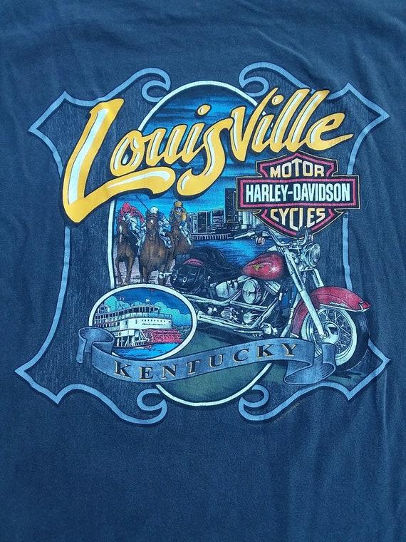 Louisville Harley Davidson >> 90s Harley Davidson Motor Cycles Xxl T Shirt Louisville Kentucky