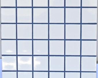 Tile Etsy - 5x5 white ceramic tile