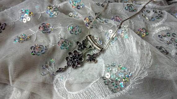 Amethyst Pendant/ Amethyst Necklace/ Amethyst Clu… - image 4