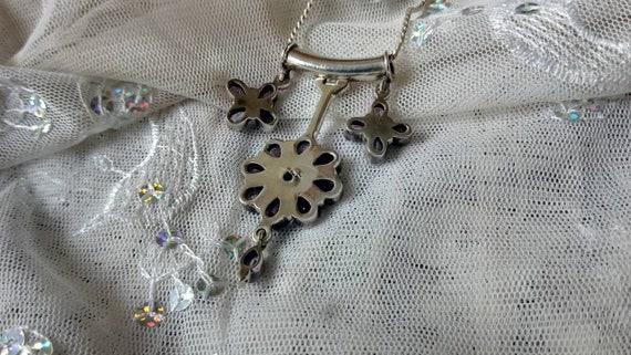 Amethyst Pendant/ Amethyst Necklace/ Amethyst Clu… - image 5
