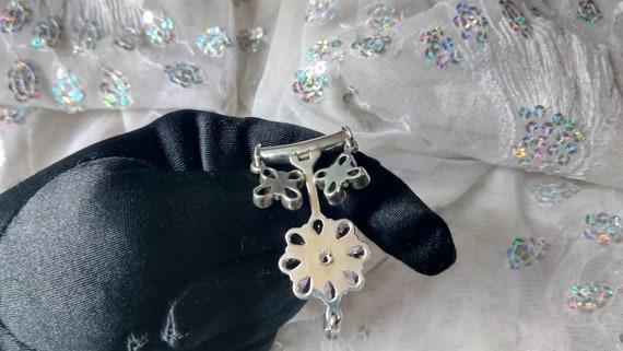 Amethyst Pendant/ Amethyst Necklace/ Amethyst Clu… - image 9