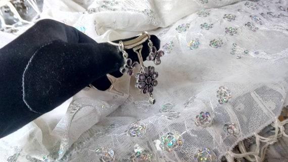 Amethyst Pendant/ Amethyst Necklace/ Amethyst Clu… - image 6