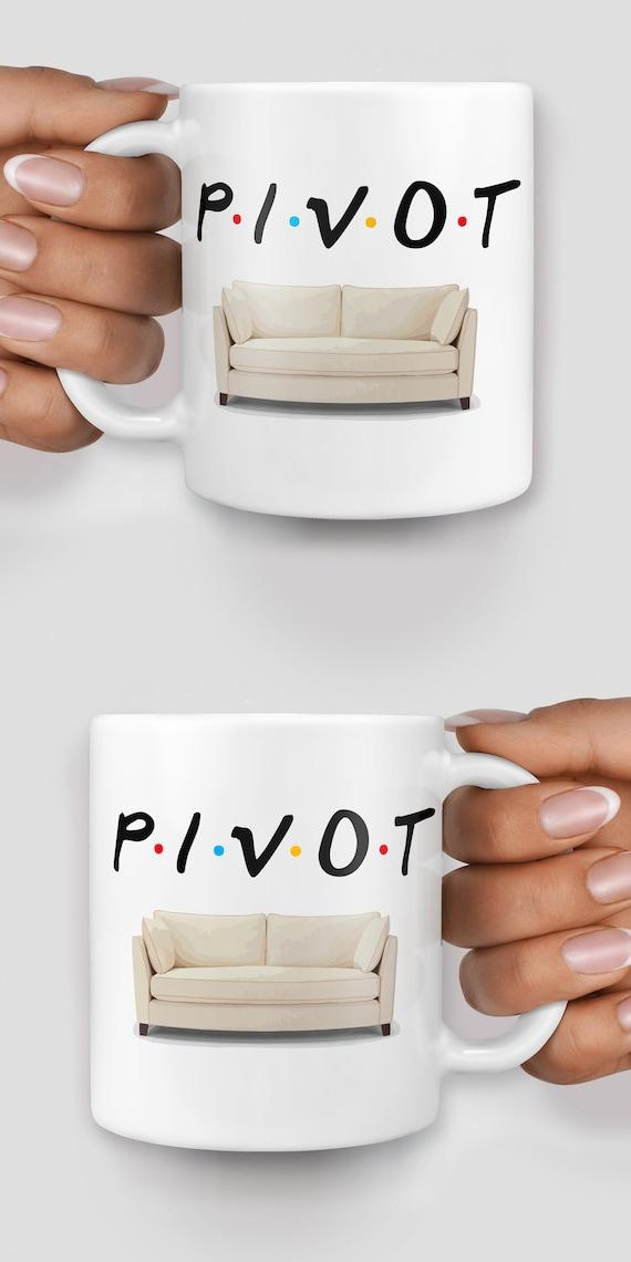 Pivot Friends mug - Christmas mug - Funny mug - Rude mug - Mug cup 4P112