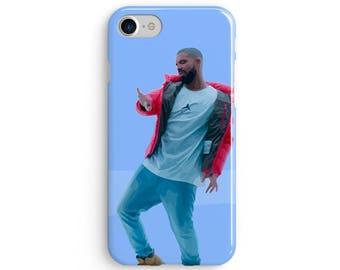Drake hotline bling illustration  iPhone X case - iPhone 8 case - Samsung Galaxy S8 case - iPhone 7 case - Tough case 1P041