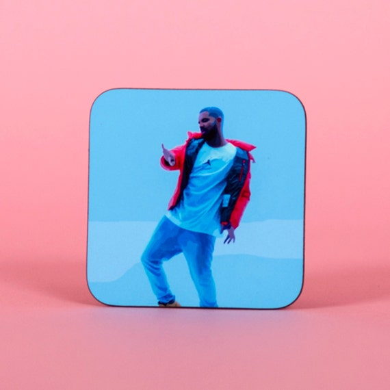 Drake hotline bling coaster - Funny coaster 2S005