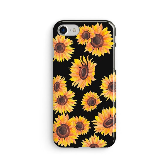 Sunflower iPhone X case - iPhone 8 case - Samsung Galaxy S8 case - iPhone 7 case - Tough case 1P087