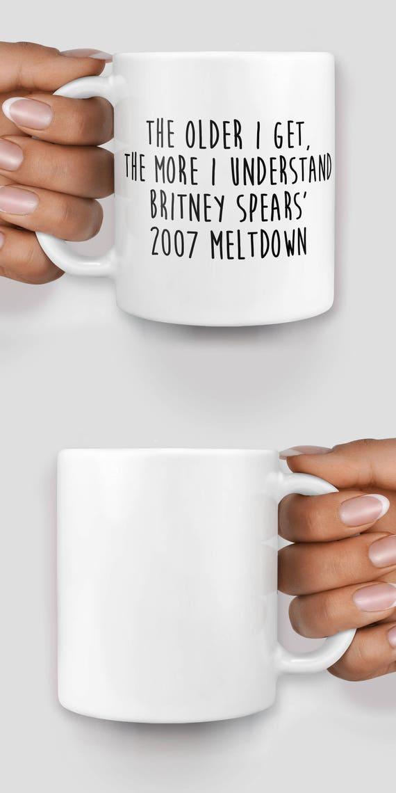 Britney Spears 2007 meltdown mug - Christmas mug - Funny mug - Rude mug - Mug cup 4P068