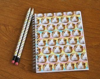 """Guinea Pig """"Ponyo"""" Notebook"""