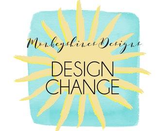 DESIGN CHANGE | Color | Font | Wording | Images