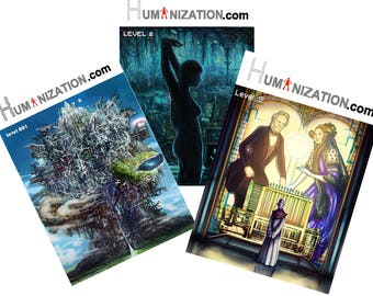 WEEKEND SALE! All three issues of Humanization.com at 10 pounds only!
