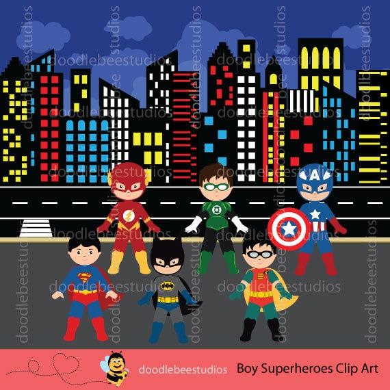 Boy Superhero Clipart Boy Superheroes Clip Art Superheroes ...