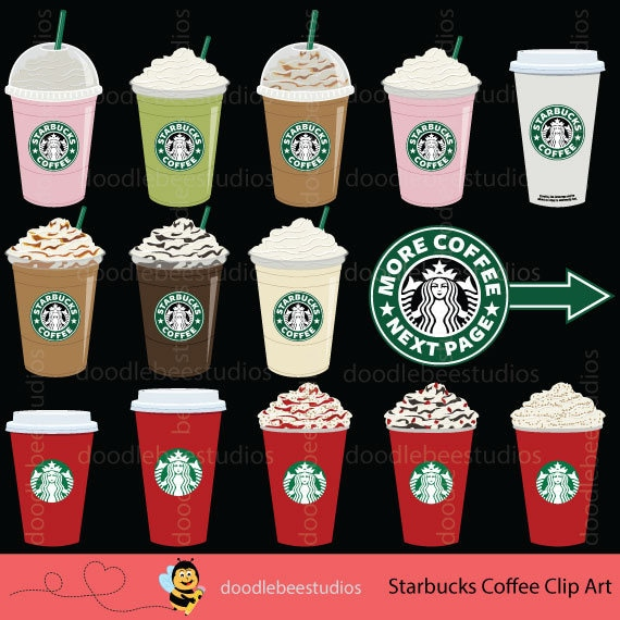Starbucks Clipart Starbucks Coffee Clipart Coffee Clip Art ...