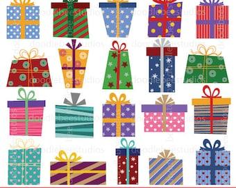 presents clipart christmas presents clipart birthday presents rh etsy com birthday present clip art free birthday presents clipart for a man