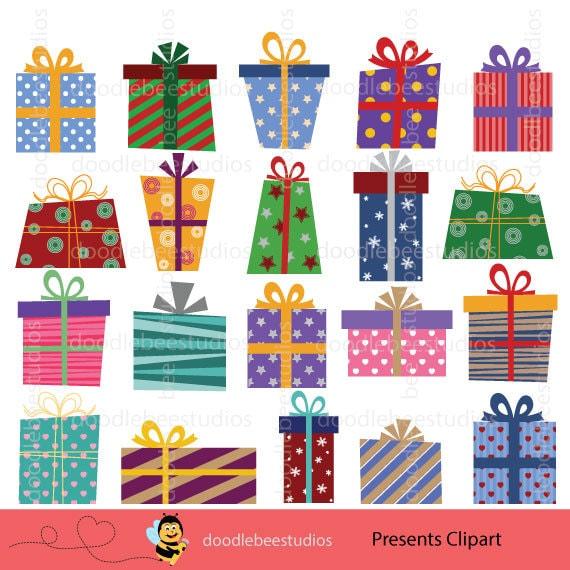 presents clipart christmas presents clipart birthday presents rh etsystudio com clip art presents under christmas tree clipart christmas presents